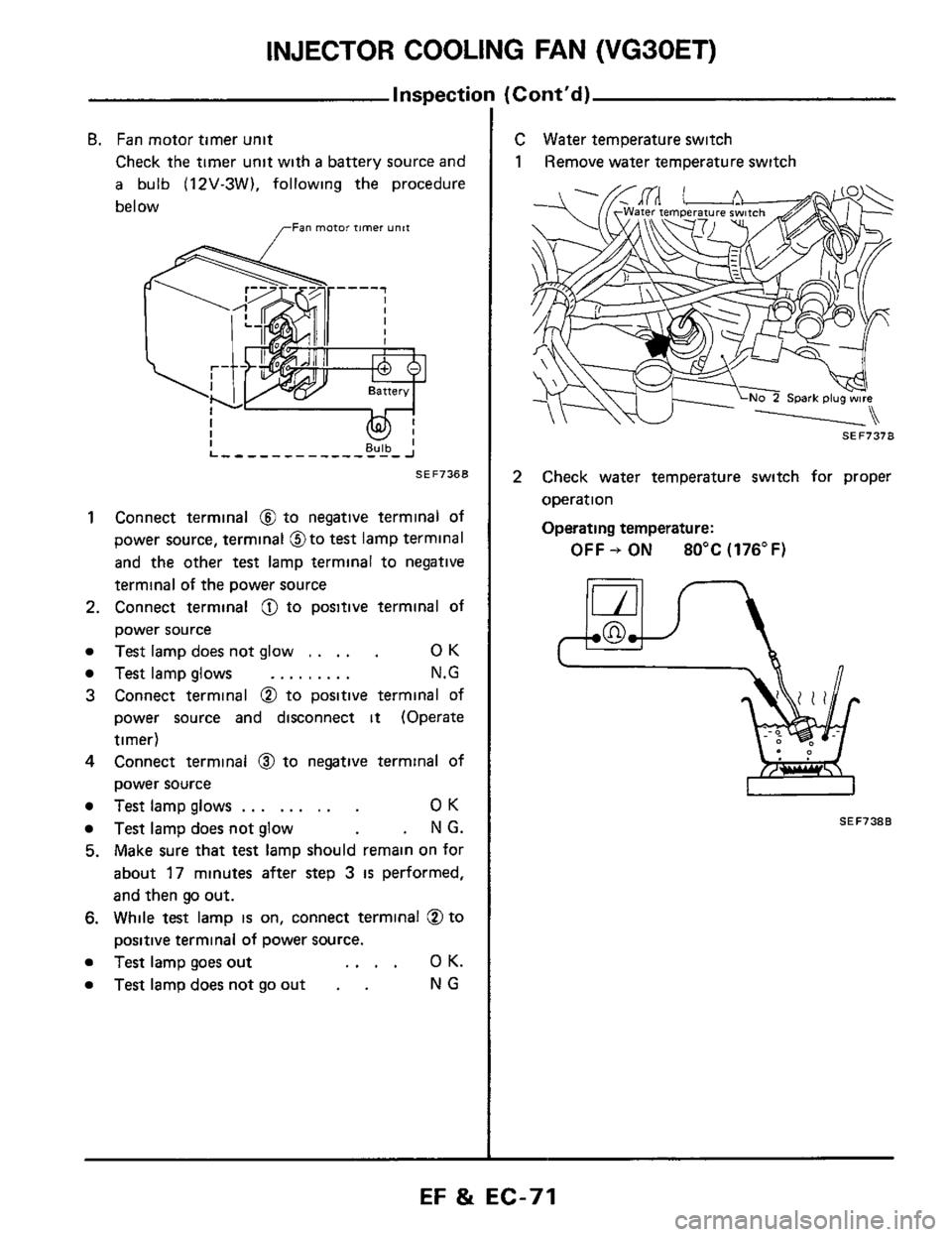 medium resolution of nissan 300zx 1984 z31 engine fuel and emission control system workshop manual