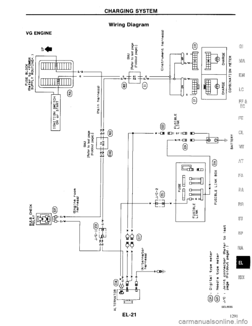 small resolution of g electrical system workshop manual