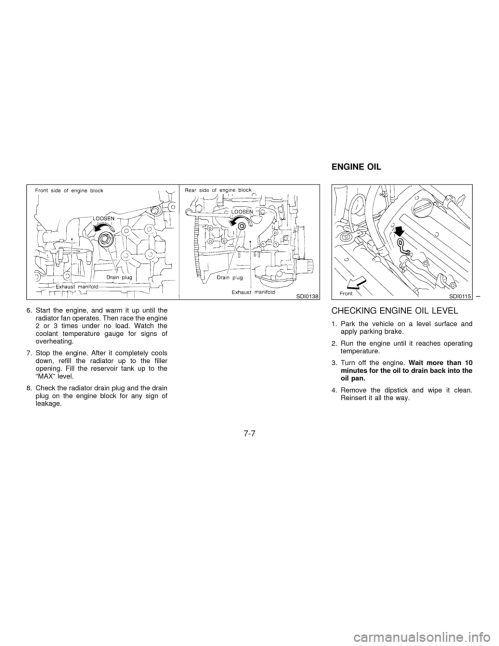 small resolution of nissan maxima 1997 a32 4 g owners manual page 150