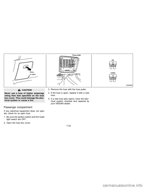 small resolution of nissan sentra 1997 b14 4 g owners manual 1999 nissan sentra fuse box diagram nissan sentra