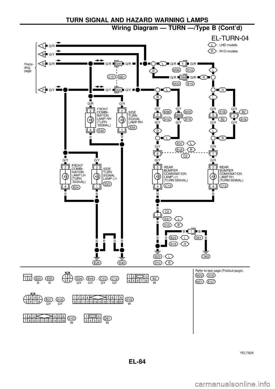 nissan patrol y61 radio wiring diagram 1995 toyota 4runner engine | library