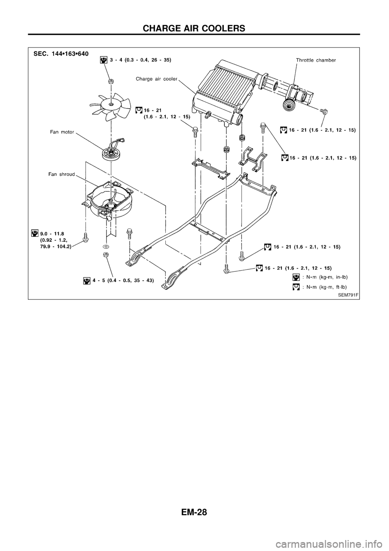 NISSAN PATROL 1998 Y61 / 5.G Engine Mechanical Owner's