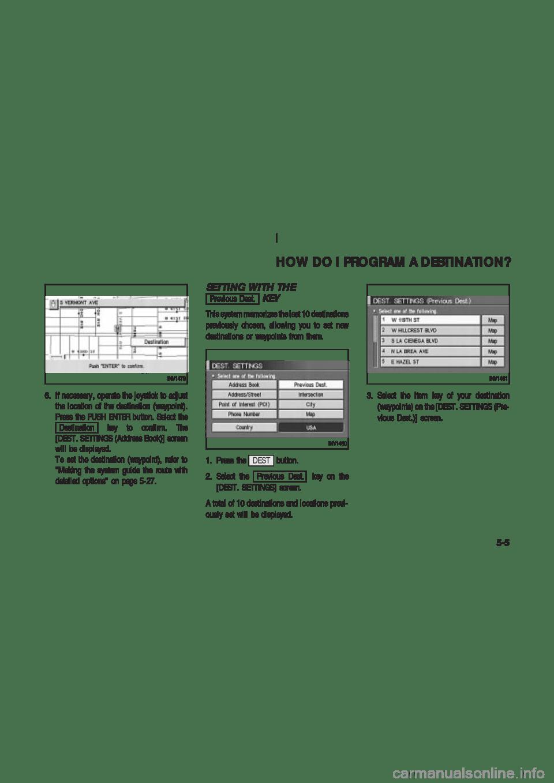NISSAN 350Z 2004 Z33 Navigation Manual (174 Pages)