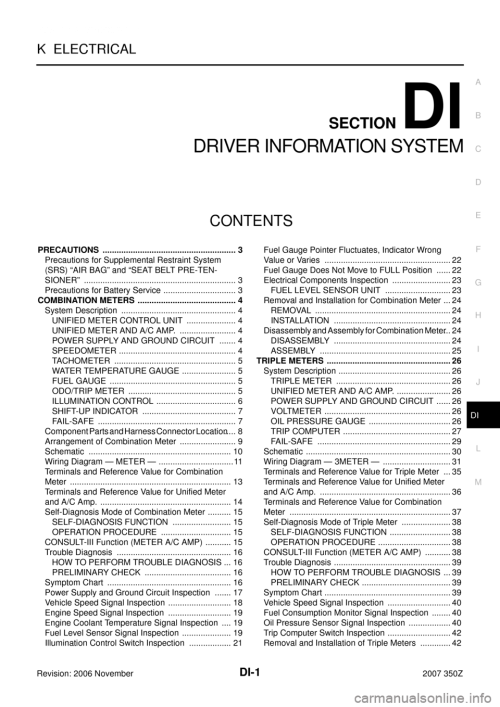 small resolution of nissan 350z 2007 z33 driver information manual