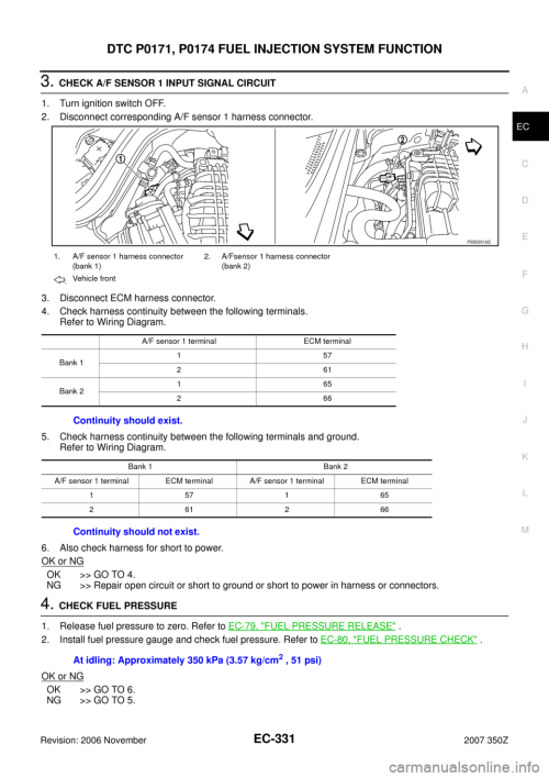 small resolution of  nissan 350z 2007 z33 engine control workshop manual on speed sensor wiring diagram