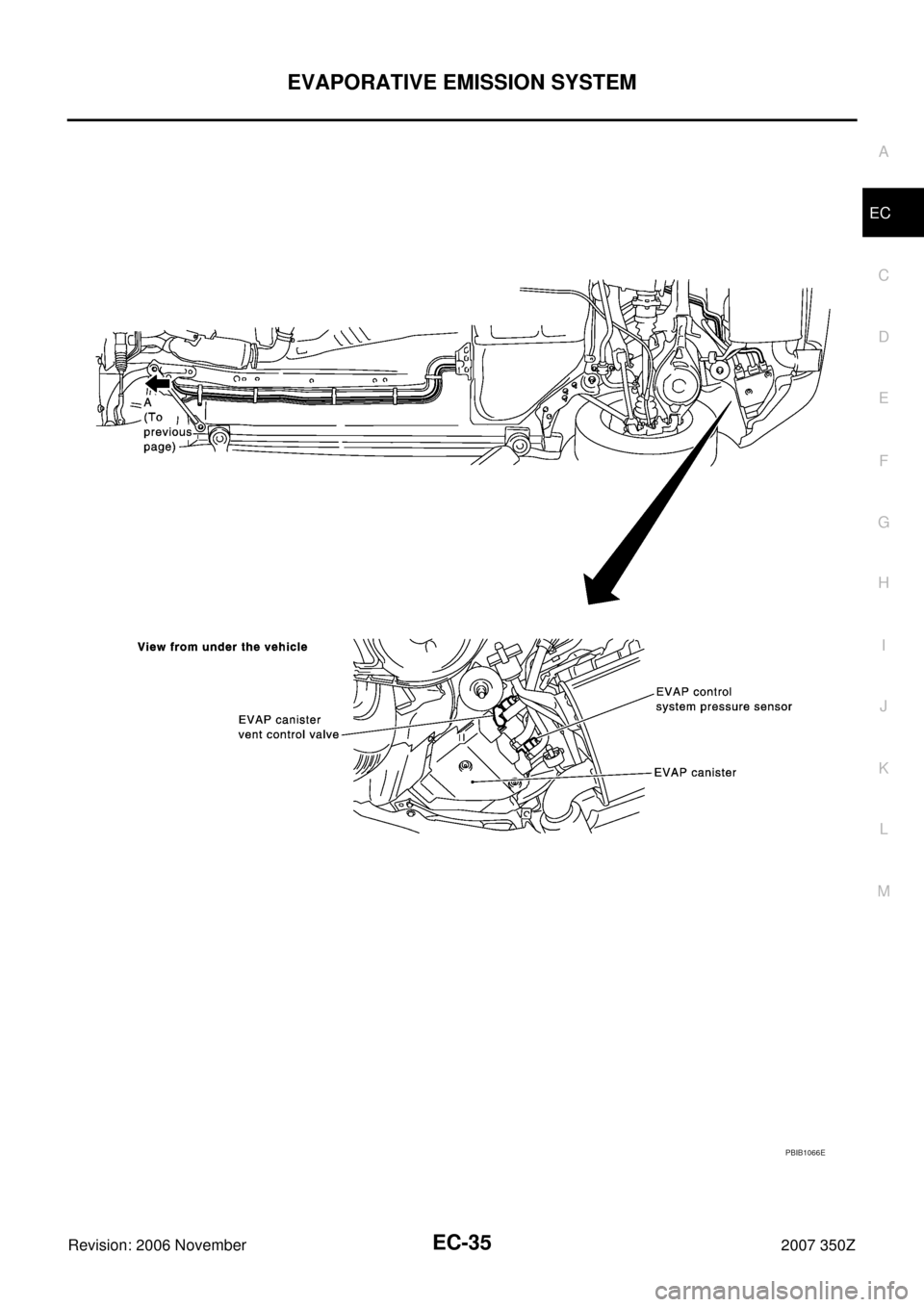 NISSAN 350Z 2007 Z33 Engine Control Workshop Manual