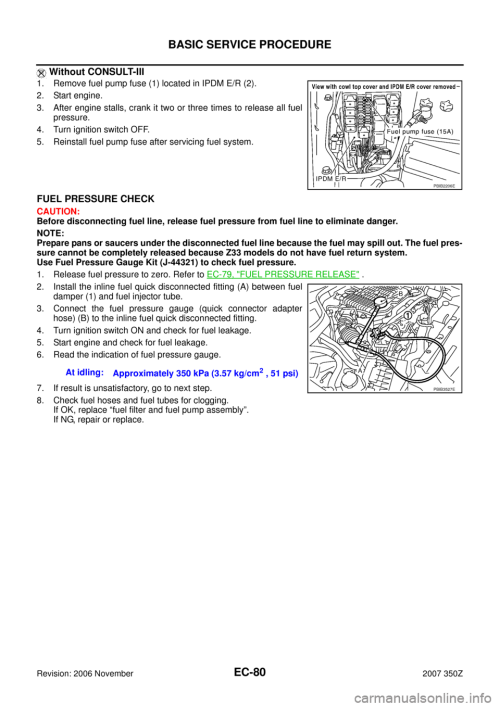 small resolution of nissan 350z 2007 z33 engine control workshop manual page 80