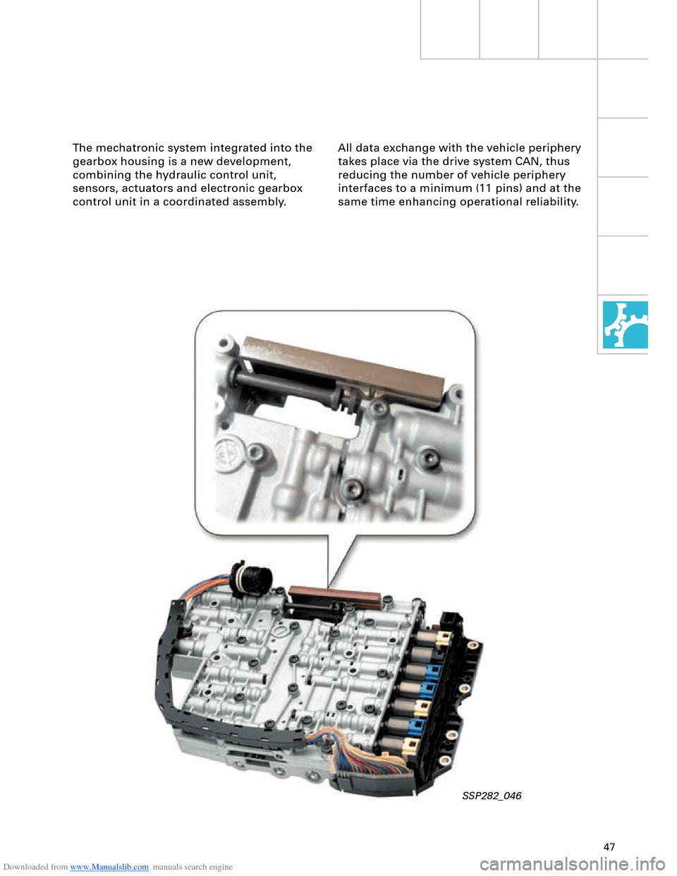 AUDI A8 2003 D3 / 2.G Technical Features Manual