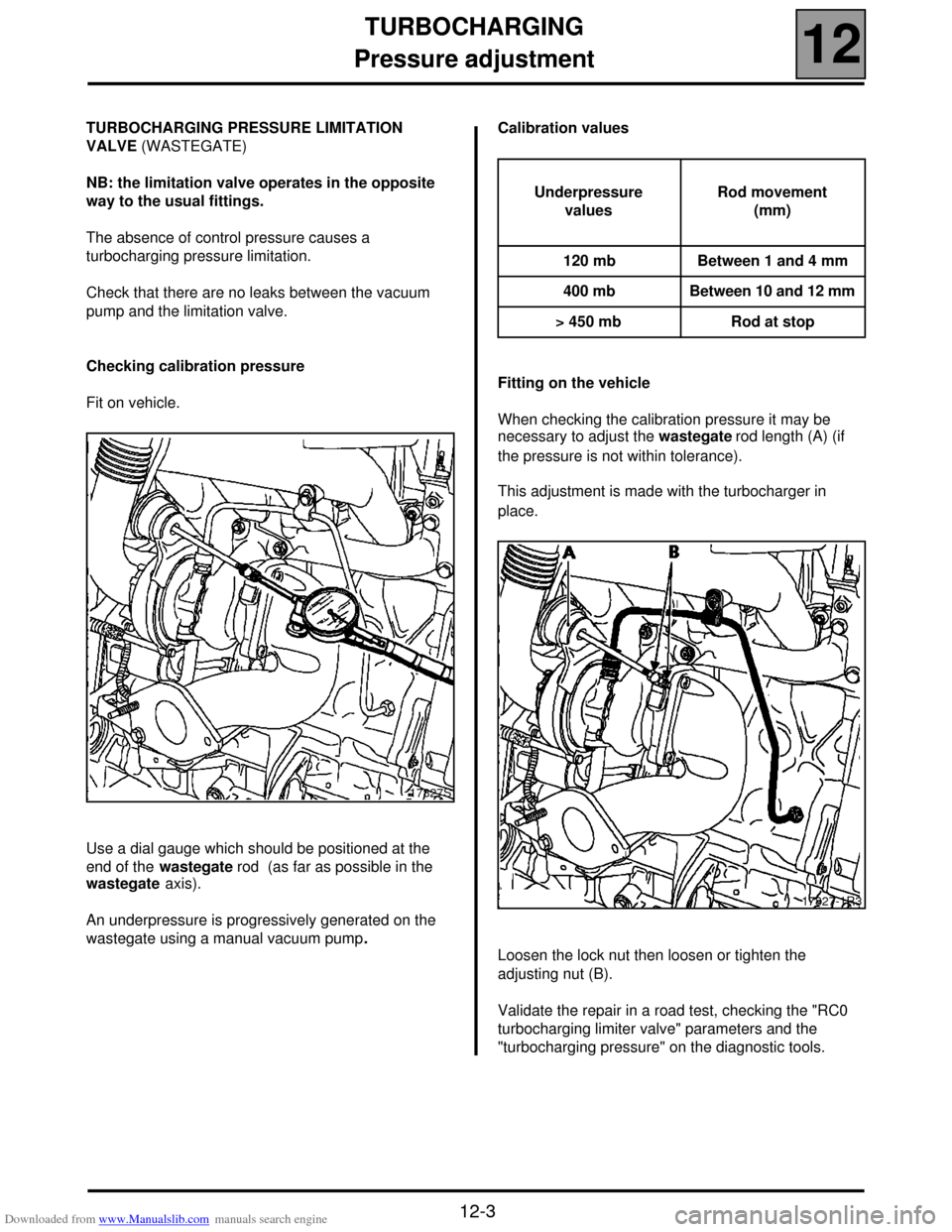 ABS RENAULT SCENIC 2000 J64 / 1.G Technical Note 3426A