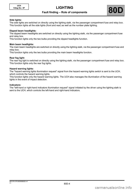 hight resolution of renault kangoo 2013 x61 2 g lighting workshop manual page 4