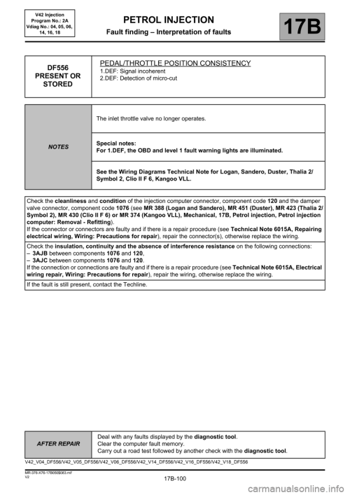 small resolution of renault kangoo 2013 x61 2 g petrol v42 injection workshop manual page 100