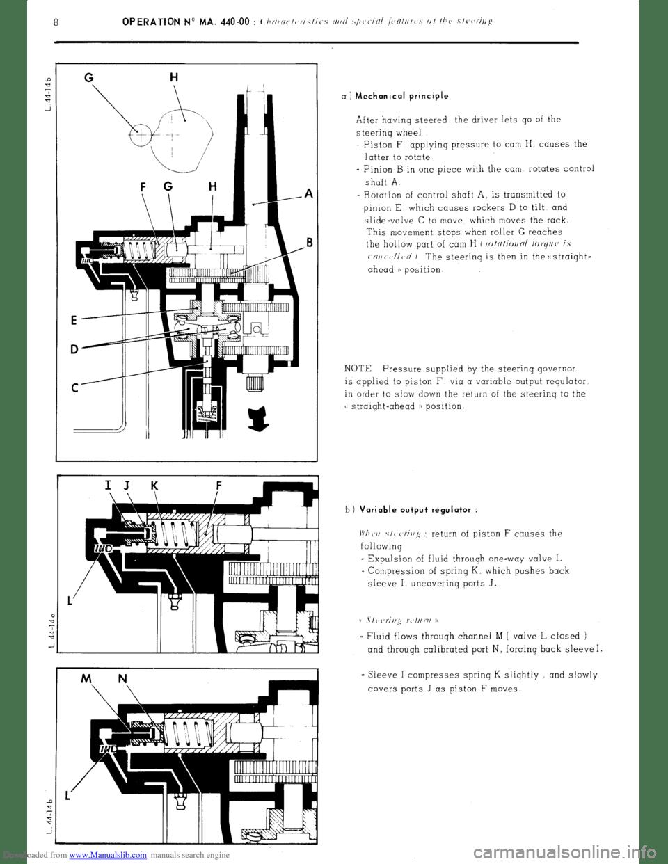 Citroen CX 1977 1.G Workshop Manual (394 Pages), Page 270
