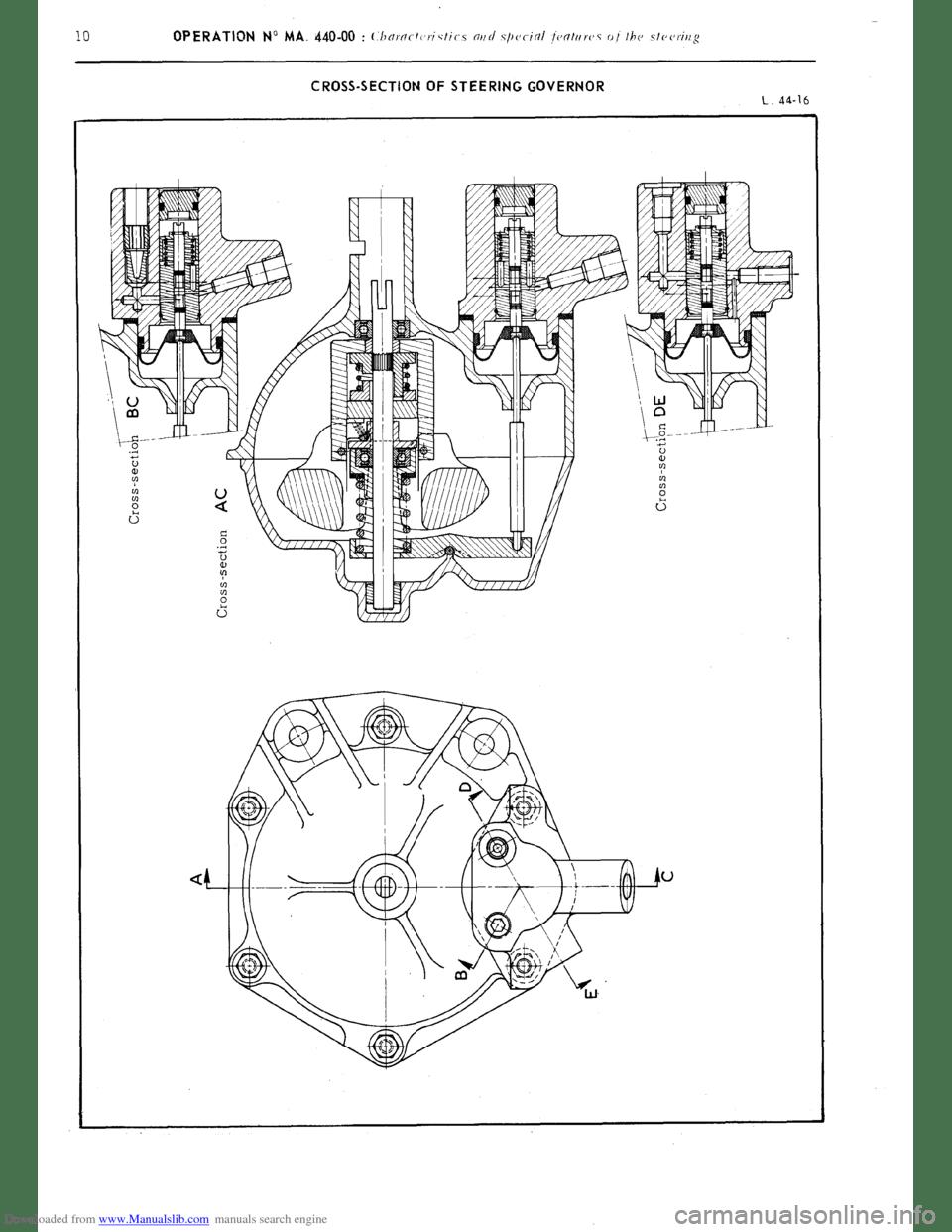 Citroen CX 1977 1.G Workshop Manual (394 Pages), Page 280