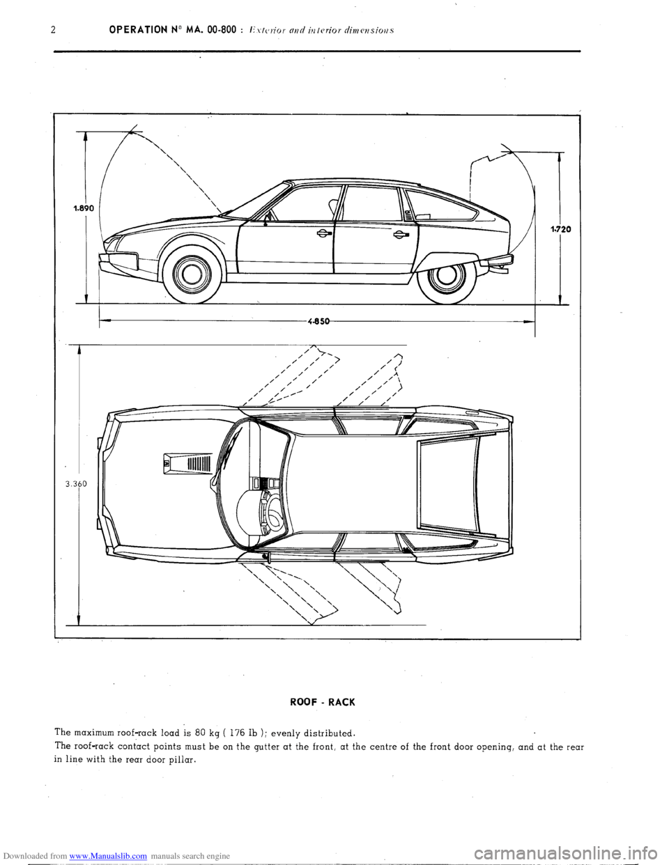 Citroen CX 1977 1.G Workshop Manual