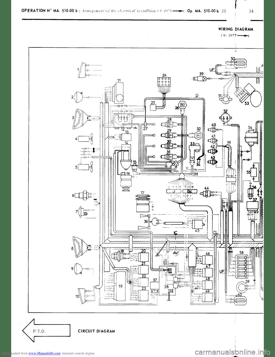 Citroen CX 1977 1.G Workshop Manual (394 Pages), Page 350