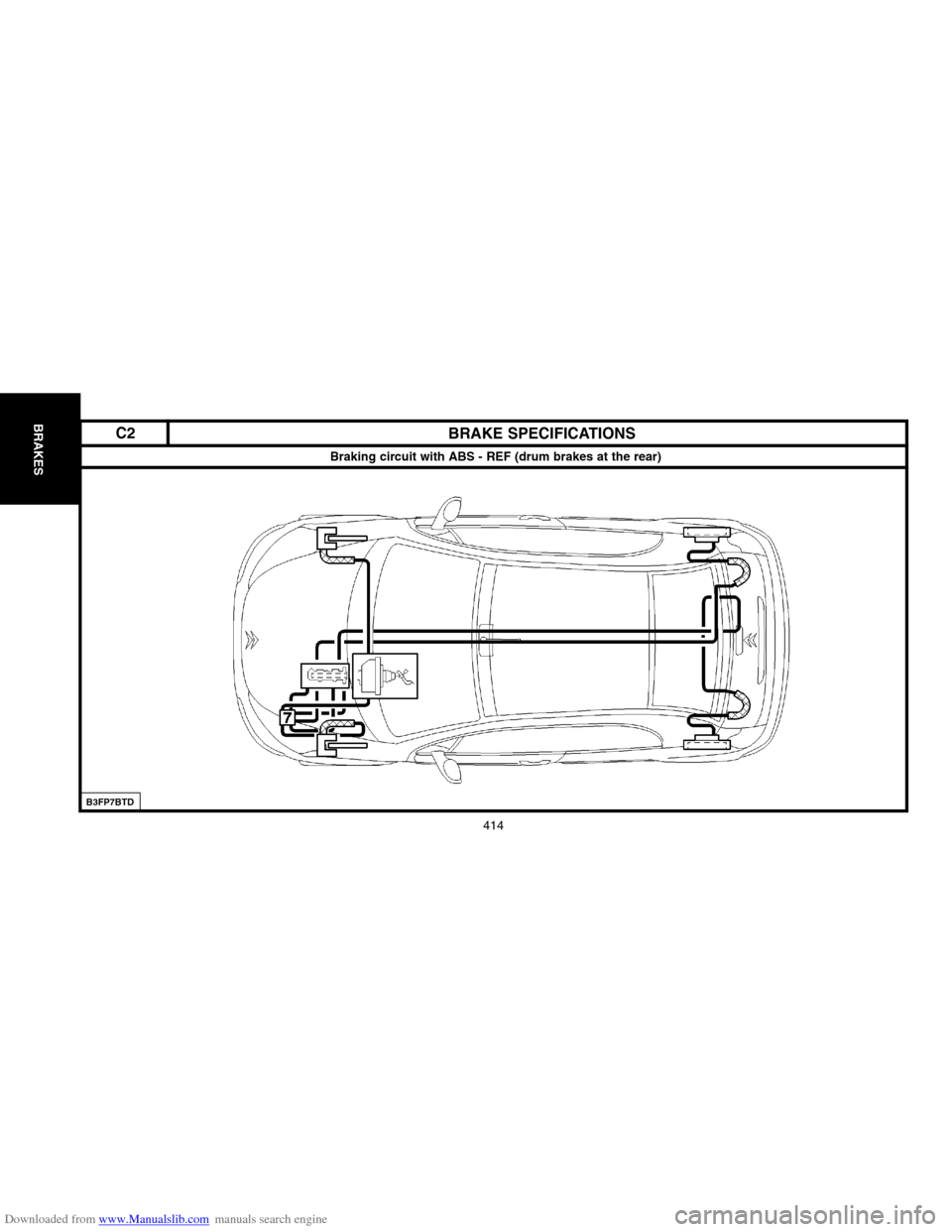hight resolution of citroen c2 2004 1 g workshop manual page 418