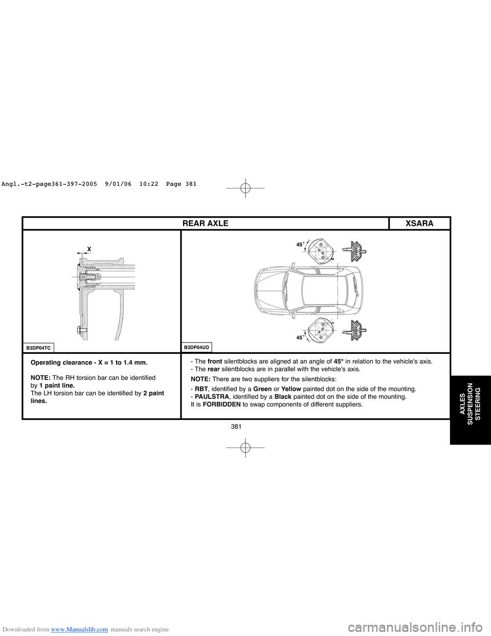 hight resolution of transverse torsion bar suspension diagram