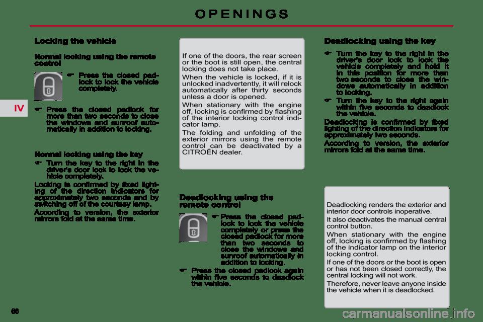 Citroen C5 2009.5 (RD/TD) / 2.G Manual Online