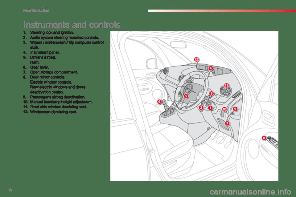 Citroen C3 PICASSO RHD 2013 1.G Owner's Manual