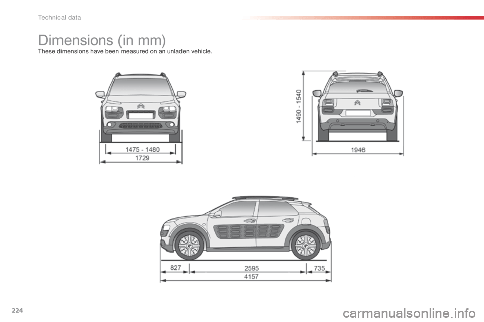 Citroen C4 CACTUS 2016 1.G Owner's Manual (308 Pages