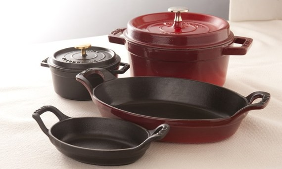 iron pot and pan set