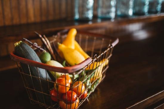 healthy food shopping