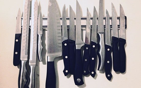 storing the knives you buy