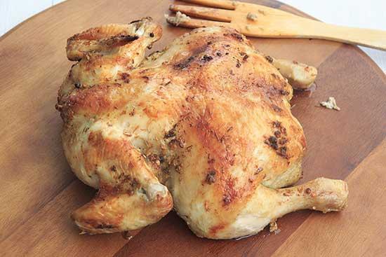 budget meal - roast chicken