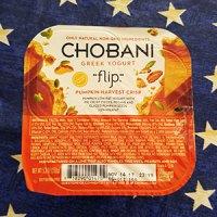 Chobani Greek Yogurt Flip, Pumpkin Harvest Crisp