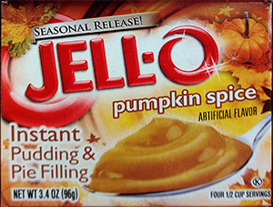 Jello Instant Pumpkin Spice Pudding and Pie Filling