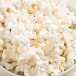 healthy snack idea - popcorn