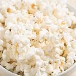 healthy snack idea - popcorn