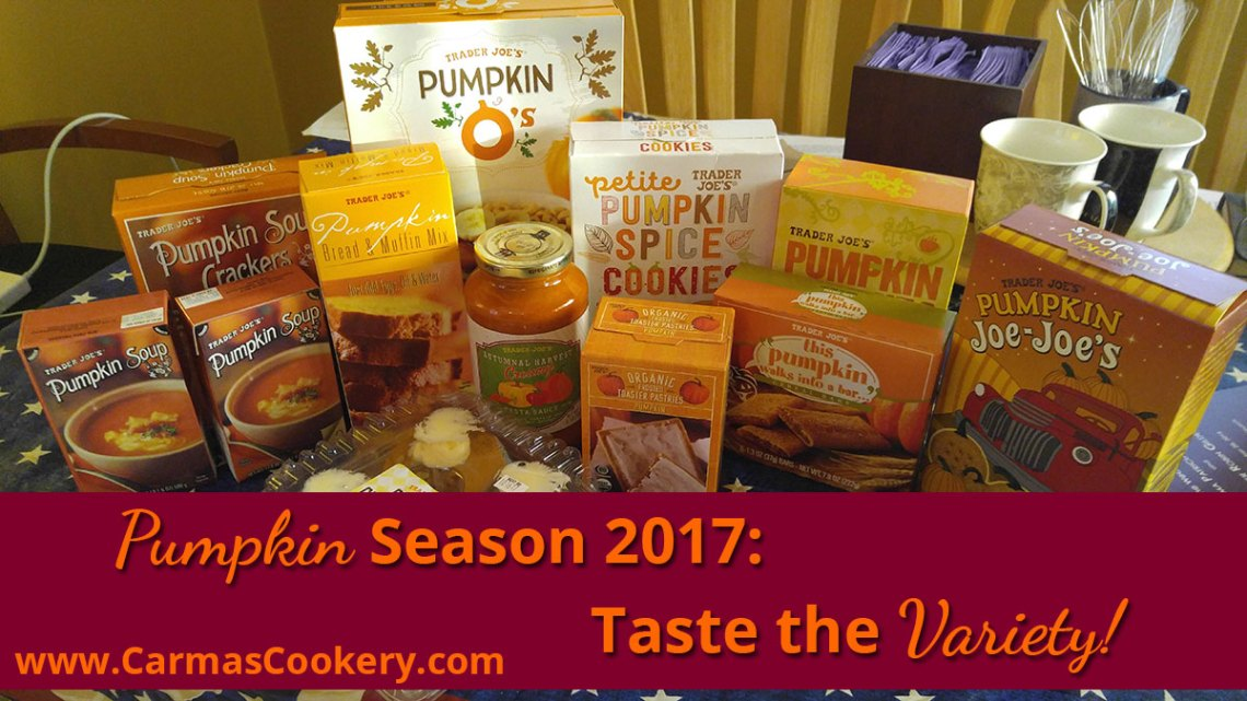 Pumpkin Season Taste the Variety