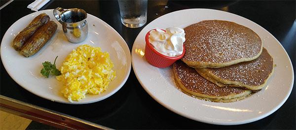 Ruby's Diner Pumpkin Pancakes
