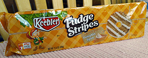 Keebler Fudge Strip Cookies, Limited Batch Pumpkin Spice