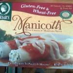 Caesar's frozen Manicotti