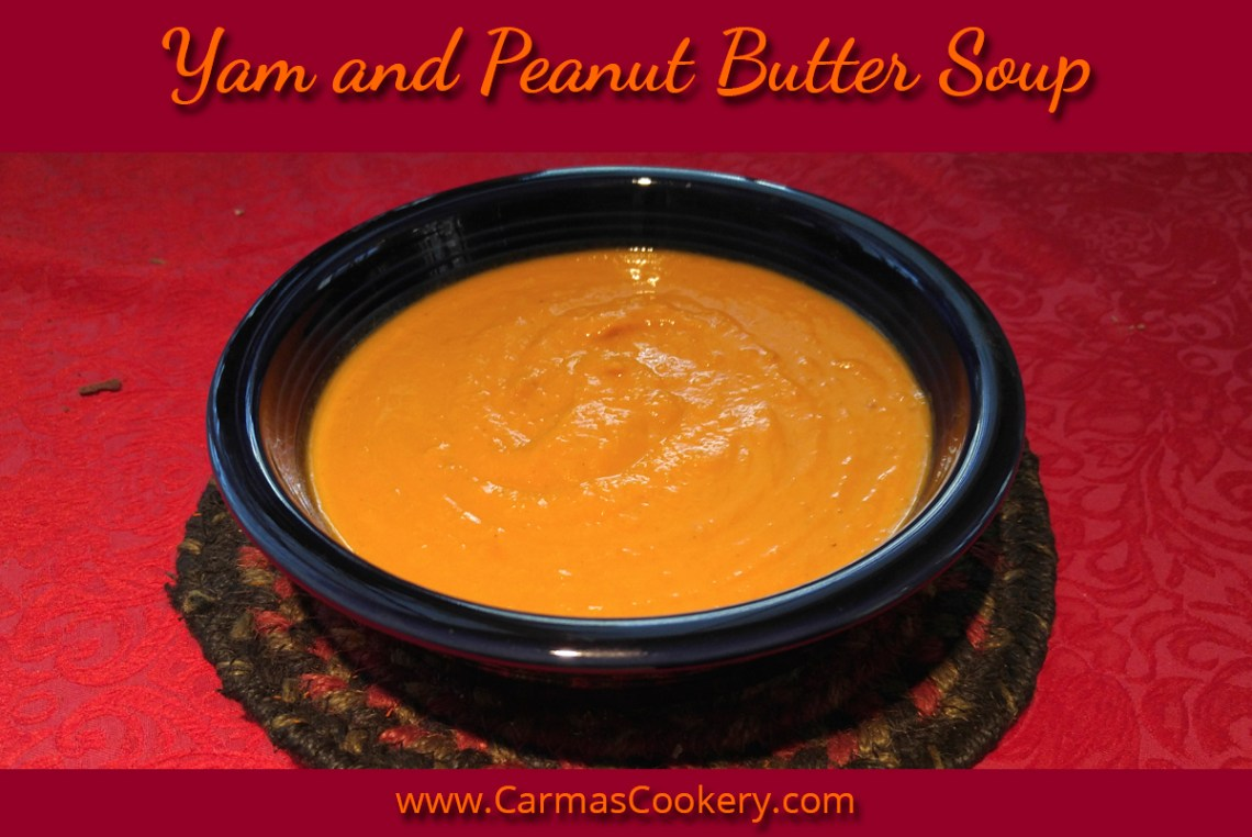 Yam and Peanut Butter Soup