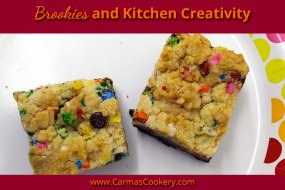 Brookies and Kitchen Creativity
