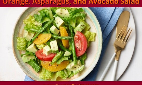 Orange, Asparagus and Avocado Salad