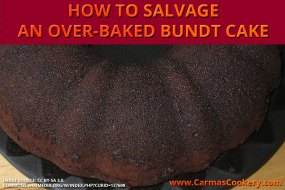How to Salvage an Over-Baked Bundt Cake