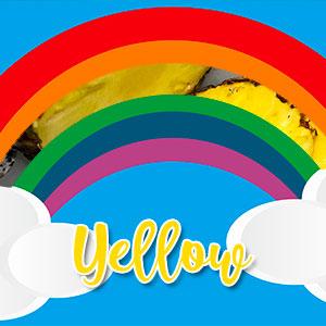 yellow veggie plate ideas