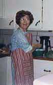 abuela in the kitchen