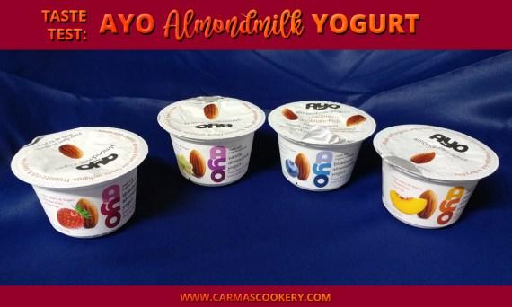 Taste Test: AYO Almondmilk Yogurt