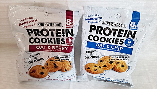 Shrewd Food Protein Cookies