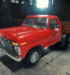hello guys here is the 1977 ford f350 for car mechanic simulator 2018  [ 1536 x 648 Pixel ]
