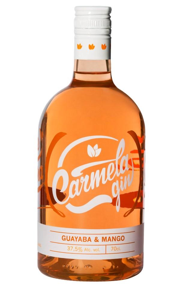 Botella de Carmela Gin