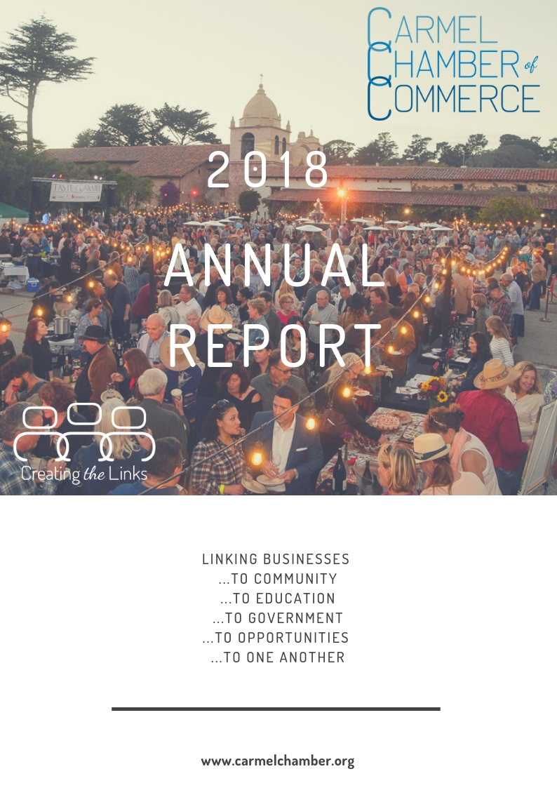 Carmel Chamber Annual Report - 2018