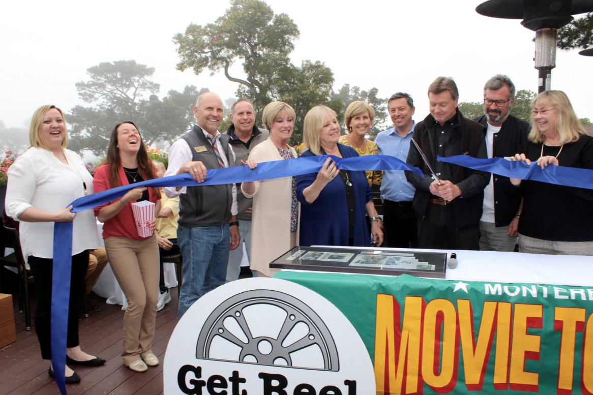 Monterey Movie Tours 25th Anniversary Ribbon Cutting