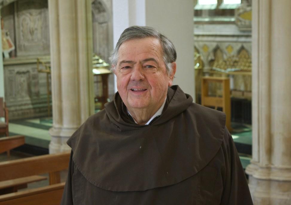 Fr John in Church