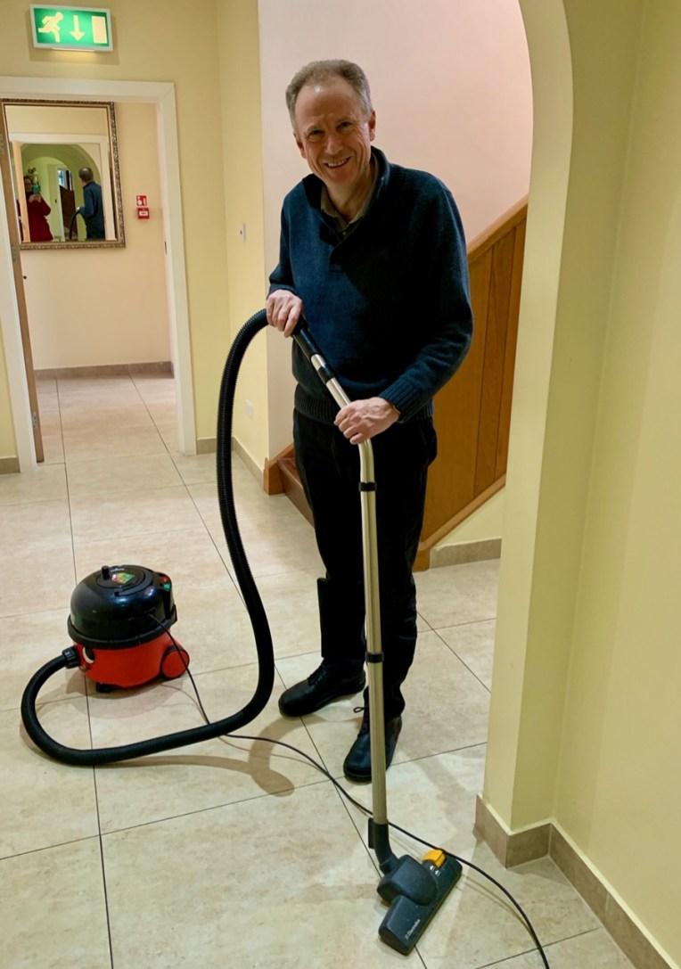 Fr Matt Cleaning